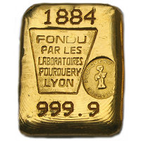 Laboratoire Pourquery 100g Goldbarren