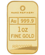 Rand Refinery Goldbarren