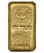 10 Tola Rothschild Goldbarren