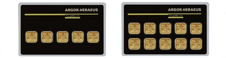 Argor-Heraeus Gold MultiCard Goldbarren