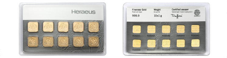 Heraeus Gold MultiCard