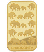Rand Refinery Elefant Goldbarren