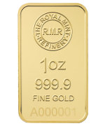 Royal Mint Goldbarren UK